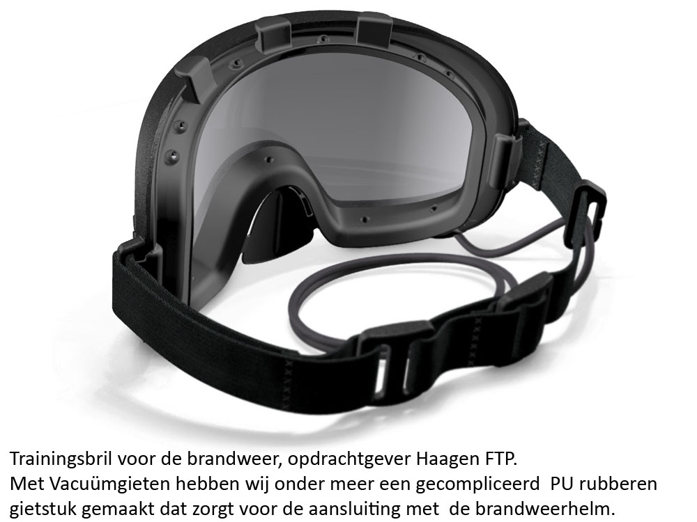 Trainingbril voor de brandweer