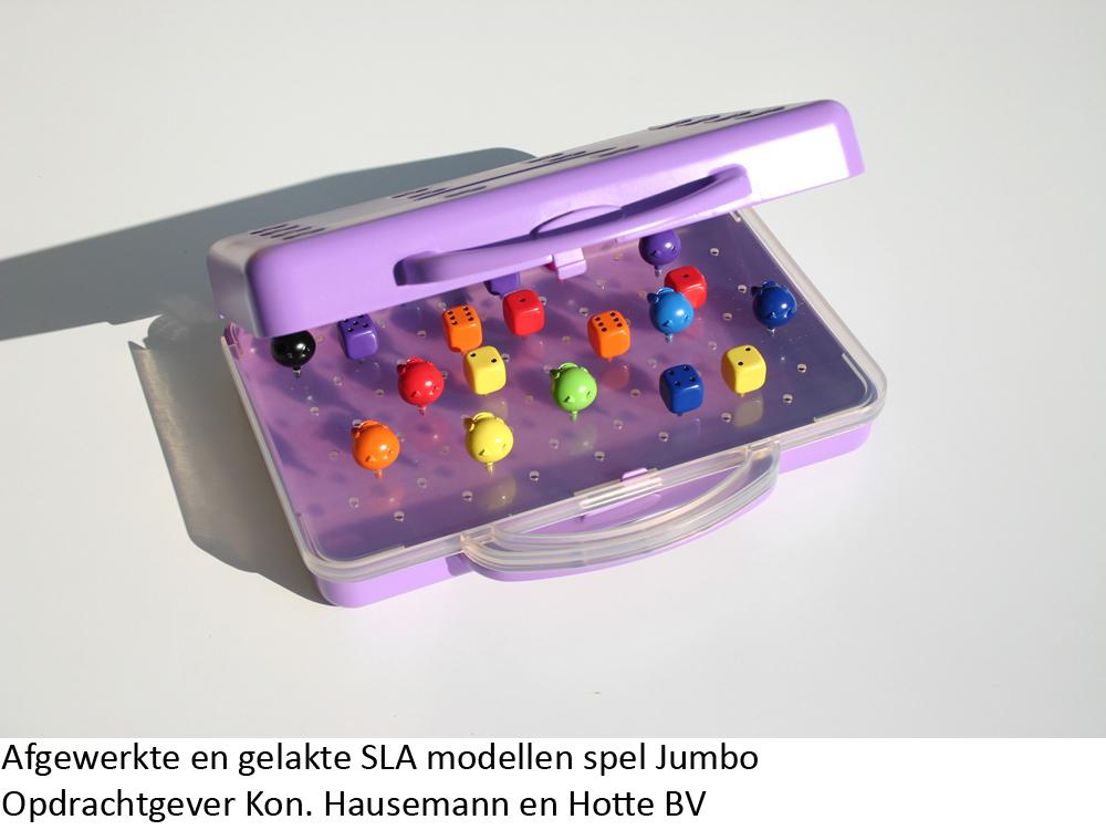 Zichtmodel spel jumbo